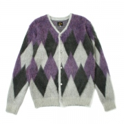 Mohair Cardigan - Diamond