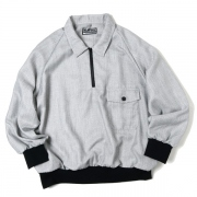 ZIP POLO(GRAY)