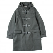 HEAVY MELTON DUFFLE COAT
