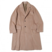 CASHMERE WOOL MOSSER CHESTERFIELD COAT