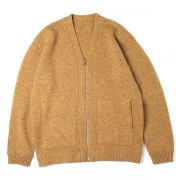 Whole Garment V/N Zip Cardigan