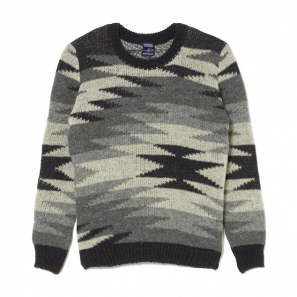 WM x Monsieur Lacenaire NATIVE PATTERN JQ KNIT