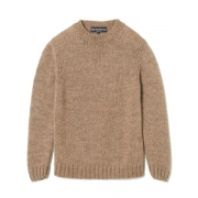LOW GAUGE CREW NECK KNIT