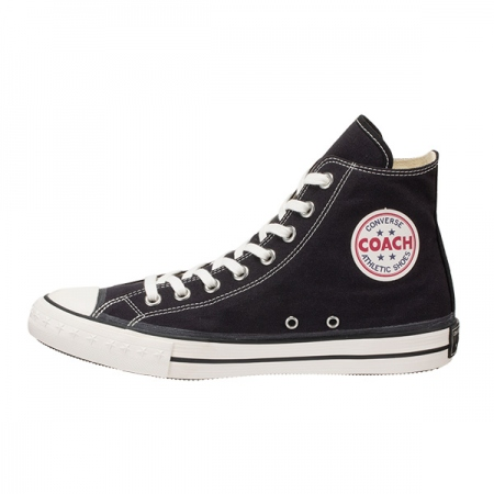 COACH CANVAS HI(BLACK)