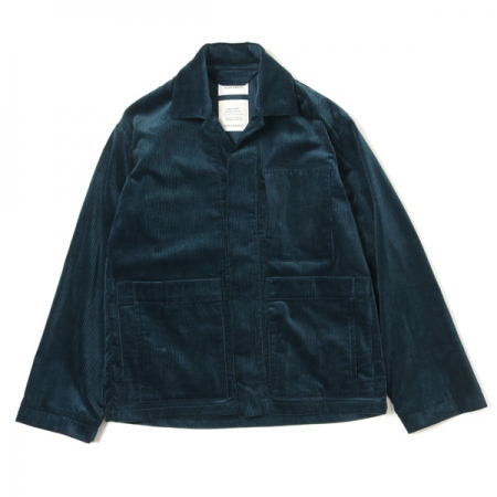 SHORT COVERALL ORGANIC COTTON CORDUROY