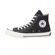 CHUCK TAYLOR CANVAS HI(SMOKY BLACK)
