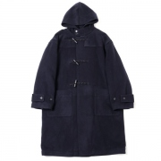 CASHMERE WOOL MOSSER BIG DUFFLE COAT
