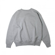 BACK WOOL SWEAT BIG P/O