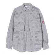 NOISE FLANNEL BIG SHIRT