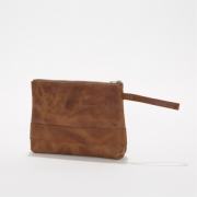 Oiled Leather Pouch