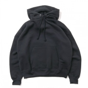 BAGGY POLYESTER SWEAT P/O PARKA