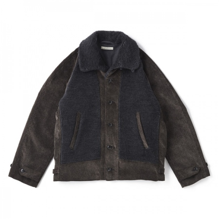 BUTTONED FRONT GRIZZLY JACKET