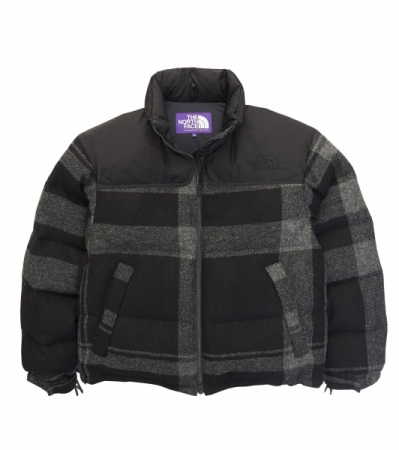 Harris Tweed Nuptse Jacket