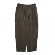PLEATED TROUSERS REGULAR 5WALE CORDUROY