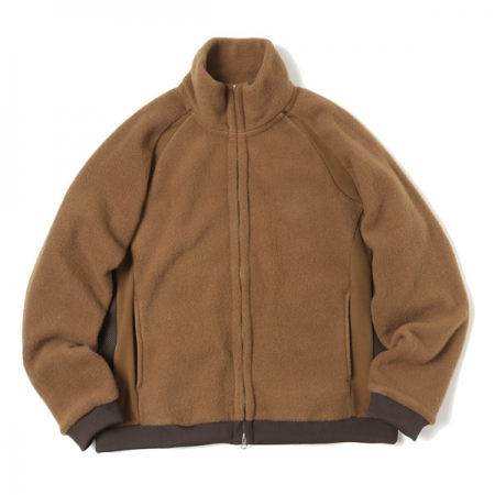 Wool Fleece Blouson