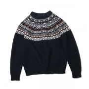 BACK NORDIC KNIT