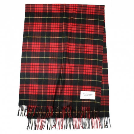 johnstons×bp cashmere stole(RED)