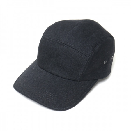 LONGBRIM JET CAP(BLACK DENIM)