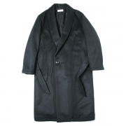 DOUBLE BRESTED SHAWL COLLAR COAT SUPER 120s BEAVER