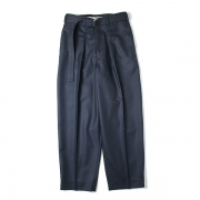 CLASSIC TROUSER ORGANIC WOOL WORSTED JAPAN FLANNEL