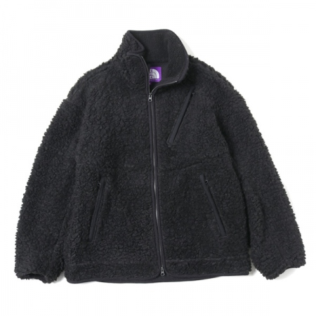 Wool Boa Fleece Field Jacket