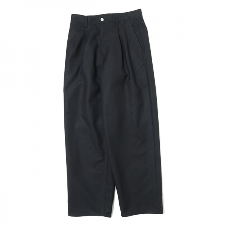 Double Cloth Peach Two Tuck Pants