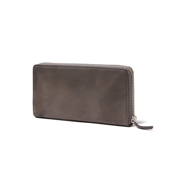 Cow Leather Zip Wallet