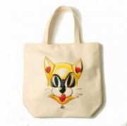 c.canvas cat tote