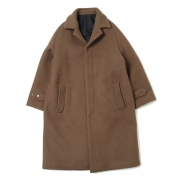 MAC COAT ORGANIC SUFFOLK MELTON
