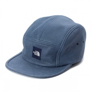 Leather Field Cap / INDIGO