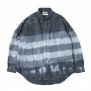 FUTUR×Graphpaper Tie&Dyed Oxford L/S B.D Box Shirt