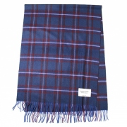 johnstons×bp cashmere stole(BLUE)