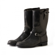 HORSE HIDE ENGINEER BOOTS (GUIDI)