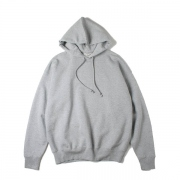 BACK WOOL SWEAT BIG PARKA