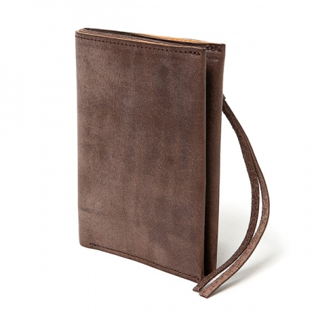 OILED COW LEATHER BIFOLD WALLET