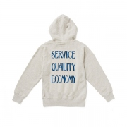 "HOODED SWEAT ""OUR POLICY"""