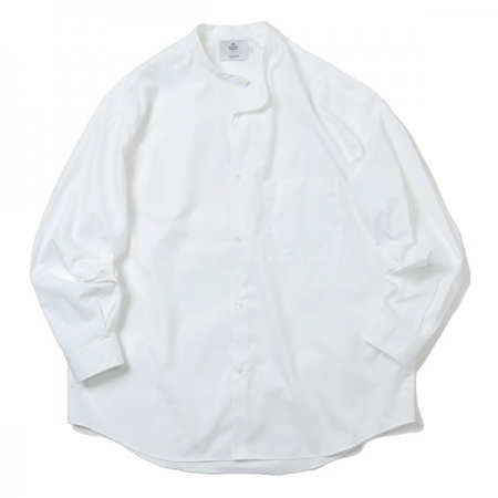 THOMAS MASON for GP Oversized Band Collar Shirt