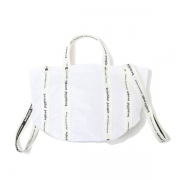 sail cloth logo tape shift bag S