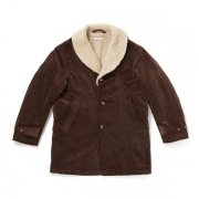 SHAWL COLLAR DRIVERS COAT