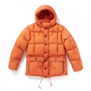 WAIST GATHERING MOUNTAINEERING PARKA