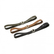 Cow Leather Belt with Brass Buckle