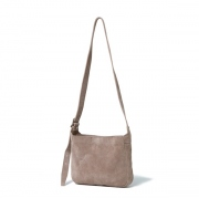 Cow Suede Leather Shoulder Bag S