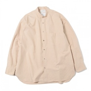 BAND COLLAR SHIRTS COMFORT FIT WILD COTTON TWILL