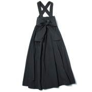 WIDE BELTED PINAFORE SKIRT