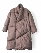 DOWN WRAP COAT