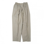 CLASSIC FIT EASY TROUSERS ORGANIC GABERDINE